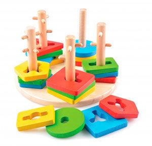 развивающая деревянная игрушка