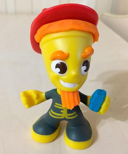 пожарный play doh с телефоном
