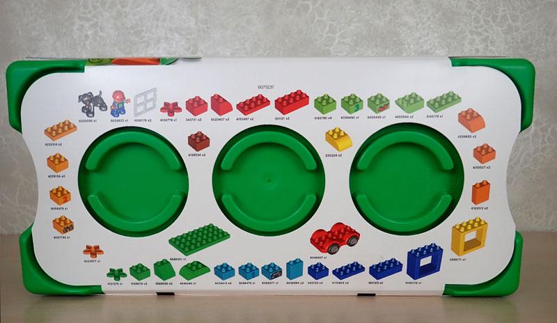 состав набора LEGO DUPLO Механик