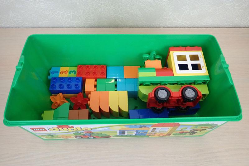 коробка LEGO DUPLO Механик
