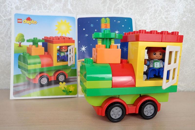 LEGO DUPLO поезд Механика