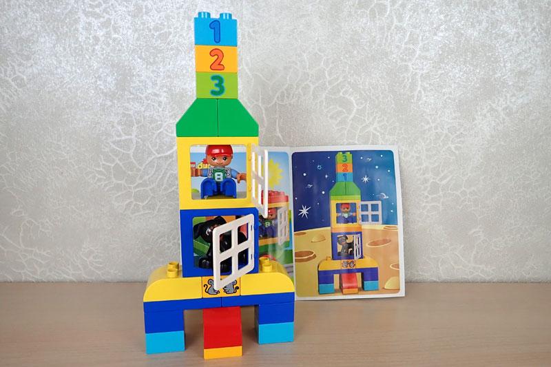 LEGO DUPLO ракета Механика