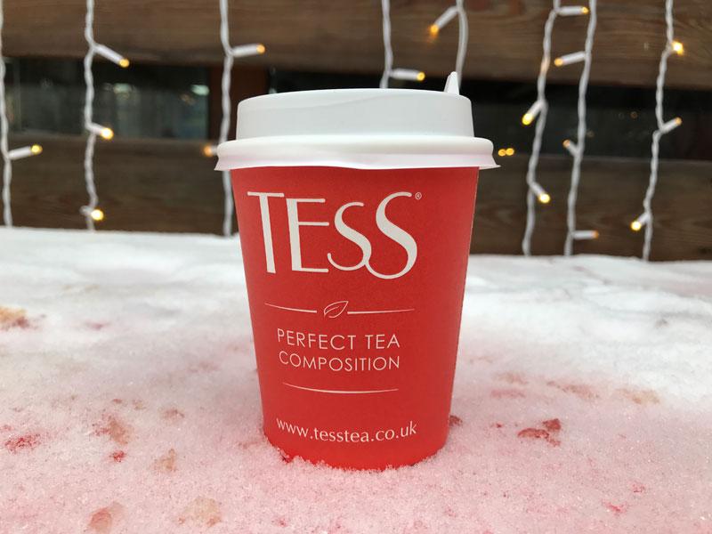 Tess чай на катке