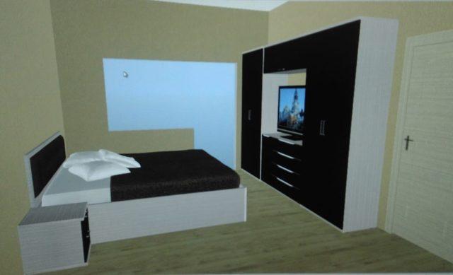 проект спальни Шатура