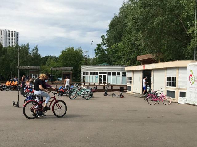 Прокат велосипедов в Измайловском парке