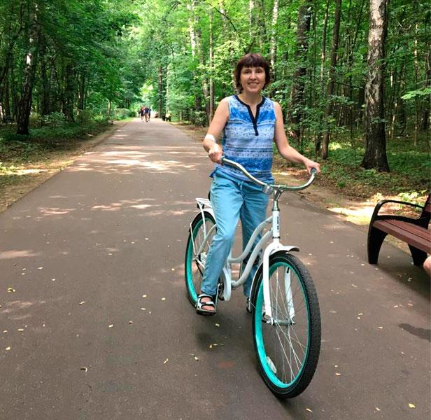 Велопрогулка в парке