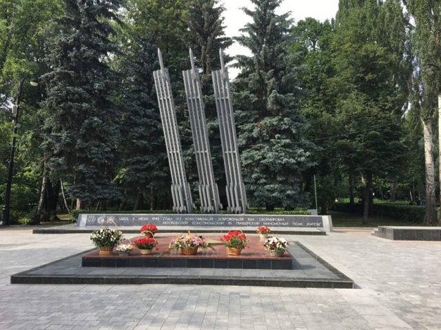 Мемориал в Измайловском парке