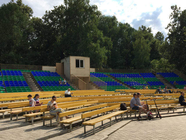Эстрада Солнечная в Измайловском парке