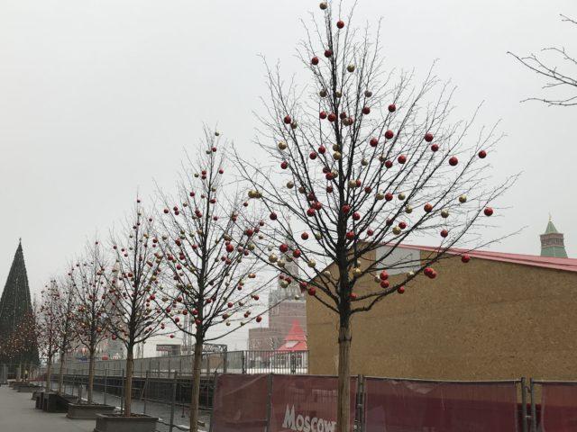 Новогодняя Красная площадь