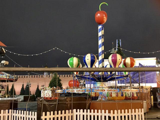 Карусели на ярмарке ГУМа